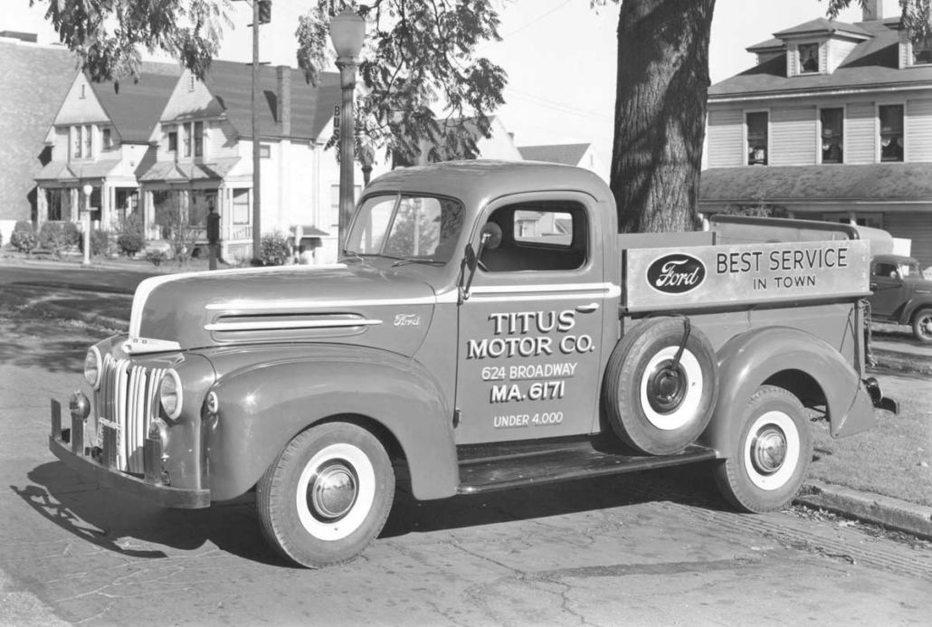 Titus Motor Co. Vintage Truck